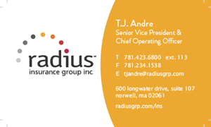 Picture of TJ Andre Business Card