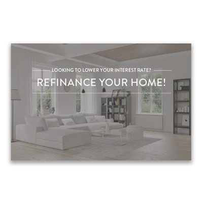 Picture for category Refinance Postcard