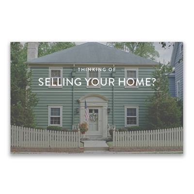 Picture for category Selling Your Home Postcard