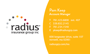 Picture of Pam Keep Business Card
