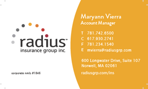 Picture of Maryann Vierra Business Card