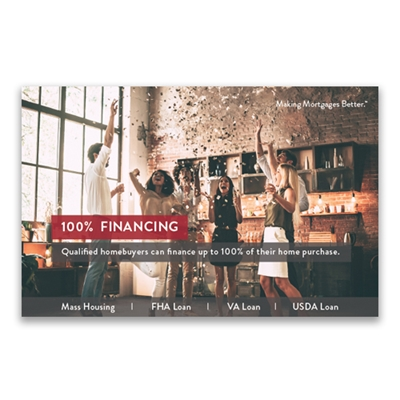 Picture for category 100% Financing Postcard