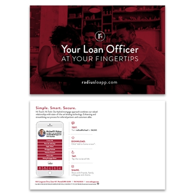 Picture for category Loan Officer at your Fingertips Postcard